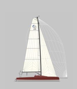 LA 28 Segelplan