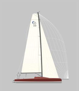 LA 33 Segelplan