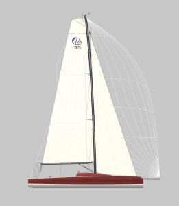 LA 35 Segelplan