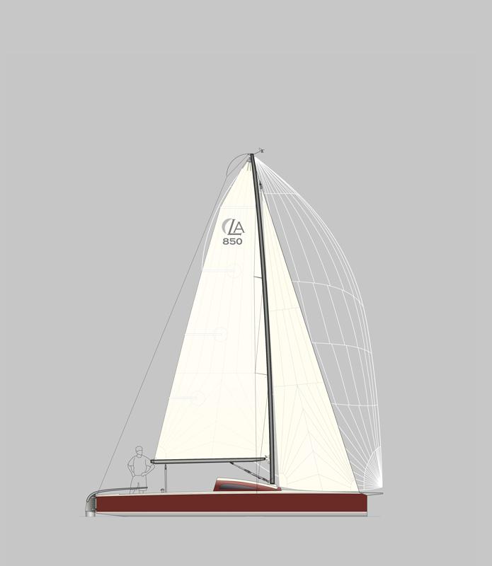 LA 850 Segelplan