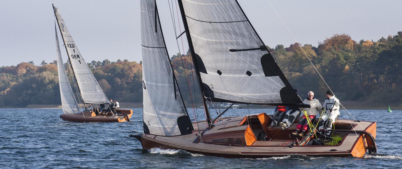 LA 850 Jollenkreuzer und LA 28 Yacht | Foto: Sönke Hucho