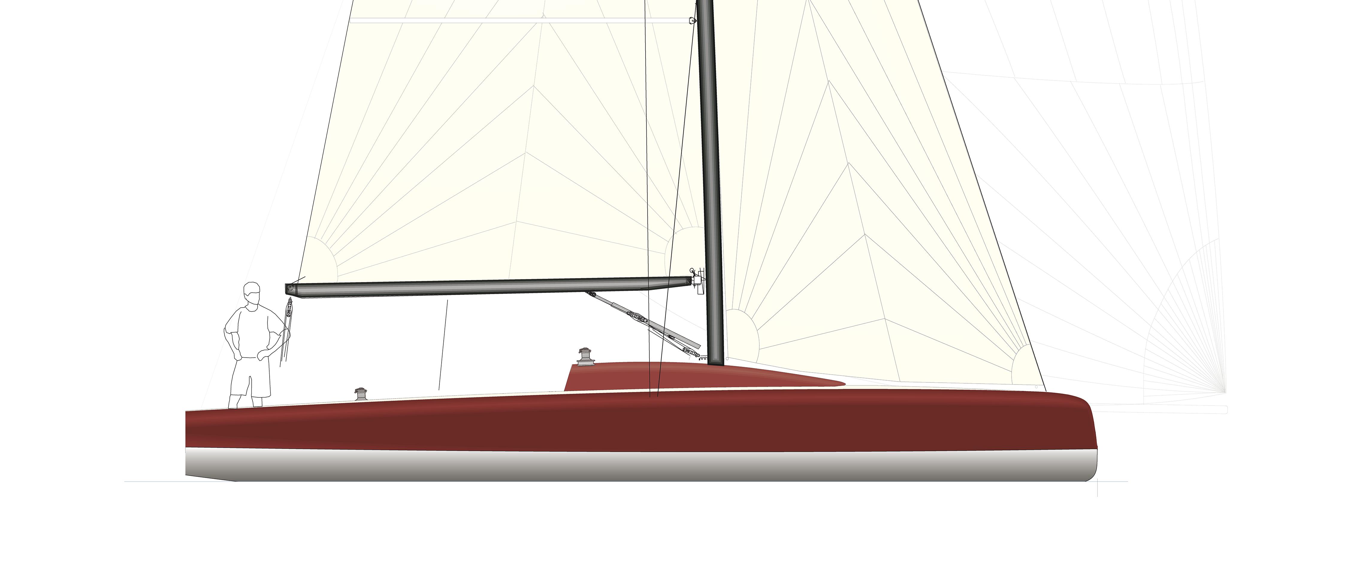 Moderne segelyachten  Segelyacht LA 35 - LA Yacht- & Bootsbau GmbH