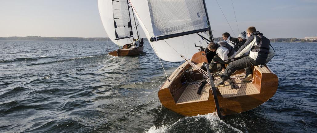 LA 28 Yacht und LA 850 Jollenkreuzer | Foto: Sönke Hucho