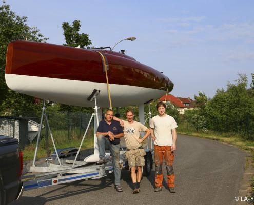 LA28 auf dem Weg nach Flensburg